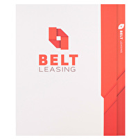 Branded 2 Pocket Folders for Belt Leasing