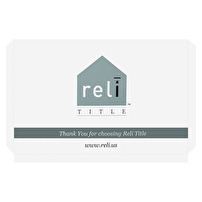 Branded Portfolios for Reli Title
