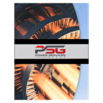 Personalized Tri-Fold Folders for Power Services Group