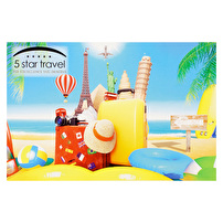 Printed Postcards for Five Star Travel