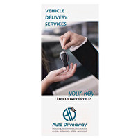 Brochures Design for Auto Driveaway