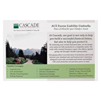 Postcards Design for Cascade Financial Management, Inc.