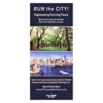 Personalized Rack Cards for On Course Run Tours