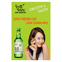 Personalized Table Tents for Chum Churum Soju