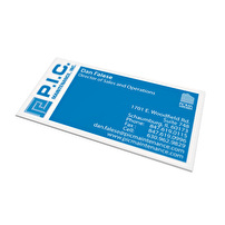 Business Cards Design for P.I.C. Maintenance, Inc.