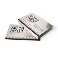 Personalized Business Cards for Moda Repeat Resale Boutique