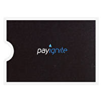 Promotional Card Sleeves for PayIgnite