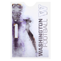 Custom Document Sleeves for University of Washington Football