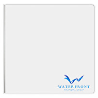 Printed Vinyl Binders for Waterfront Financial Group