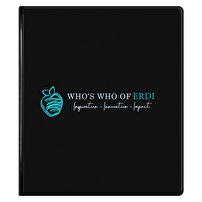 Personalized Vinyl Binders for Who's Who of ERDI