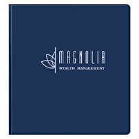 Branded Vinyl Binders for Magnolia Wealth Management