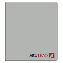 Branded Vinyl Binders for AEU Lead