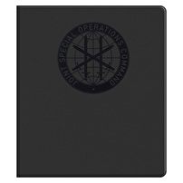 Personalized Vinyl Binders for Joint Special Operations Command