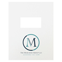 Printed Two-Piece Report Covers for The Marchese Group, LLC
