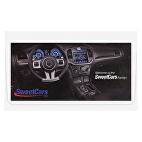 Branded Short Run Presentation Folders for SweetCars, LLC