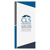 Short Run Presentation Folders Design for Close Loan Specialists Financial