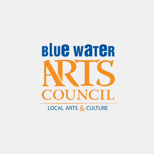 Logo Design - Blue Water Arts Council