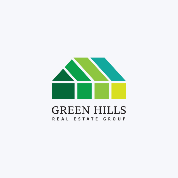 Logo Design - Green Hills Real Estate Group
