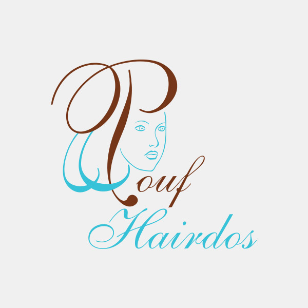 Logo Design - Pouf Hairdos