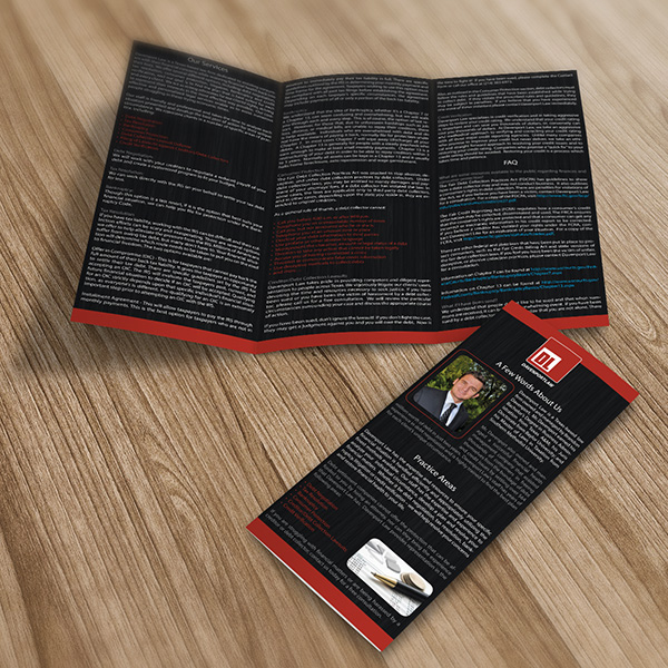 Print Design - Davenport Law School Brochures