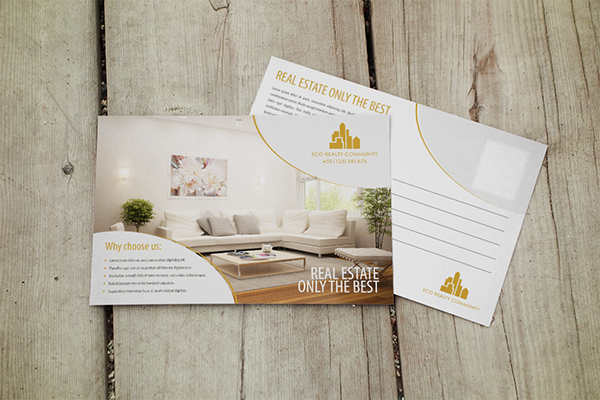 Postcard Design - Eco Realty Community