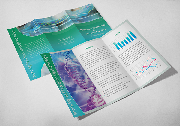 Print Design - Healthcare Technology Software 01