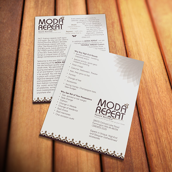 Print Design - Moda Repeat Sales Sheets