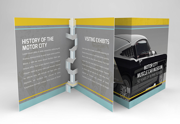Print Design - Motor City Muscle Car Museum