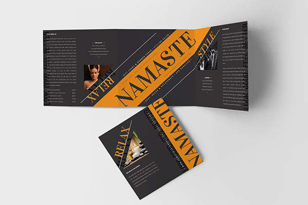 Print Design - Namaste Salon Spa 01