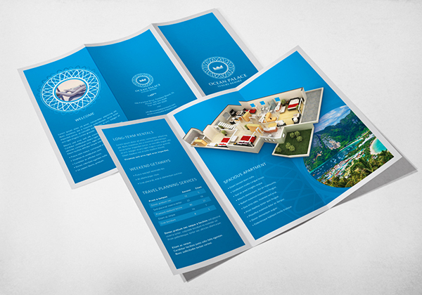 Print Design - Ocean Palace Luxury Resort 01