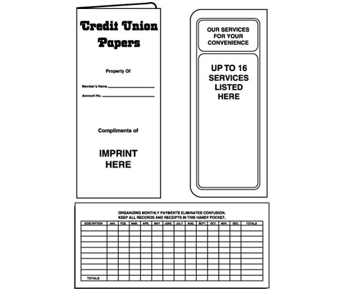 Credit Union Document Folder