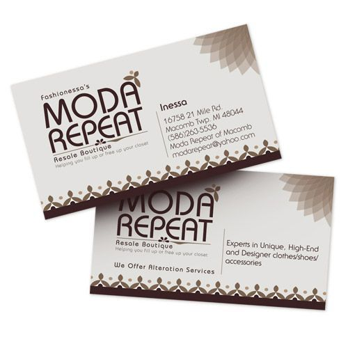 2 x 3 12 full color standard business cards - Standard Business Card