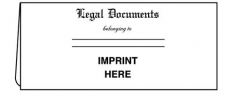 01-01-015 4 1/2 x 10 1/4 Legal Document Folder