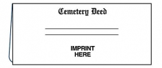 01-01-016 Cemetery Deed Document Folder