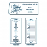 01-01-054 Wedding Planner Bells Ring Document Folder