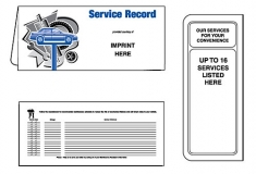 01-01-090 Auto Service Record Document Folder