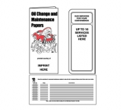 01-01-092 Oil Change & Maintenance Document Folder