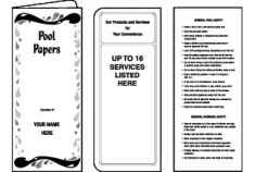 01-01-122 Pool & Spa Document Folder