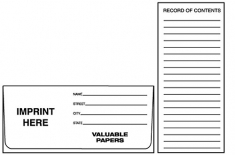01-01-130 Valuable Papers Landscape Document Folder