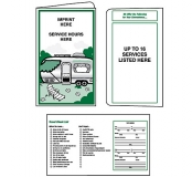 02-01-021 Recreational Vehicle Retro Document Folder