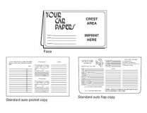02-01-024 Your Car Papers Glove Box Document Folder