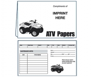 02-01-027 ATV Papers Document Folder