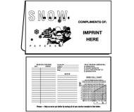 02-01-071 Snowmobile Papers Document Folder