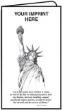 02-01-503 Patriotic Statue of Liberty Document Folder