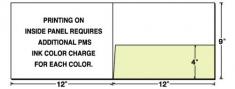 08-06 Landscape Right Pocket Presentation Folder
