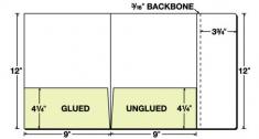 08-08 2 Pocket Info Flap Presentation Folder