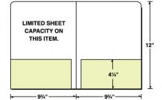 08-27 2 Glued Pockets Letter Size Presentation Folder