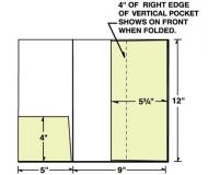 08-32 Small & Vertical Pocket Presentation Folder