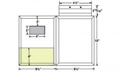 08-36-CON-WIN Conformer® Expanding Folder w/  Window & Fold Down Tab