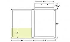 08-36-CON Conformer® Expanding Folder w/ Fold Down Tab
